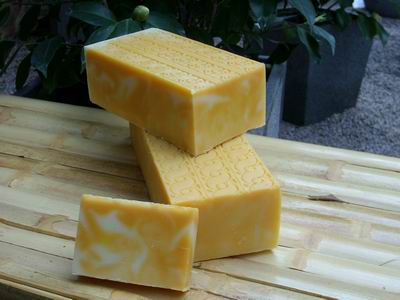 Foto von Orangen-Zitronen-Seife