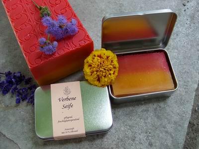 Foto von Geschenkdose Verbene Seife