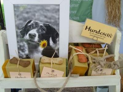 Foto von Hundeseife mit Lavendel- u. Teebaumöl