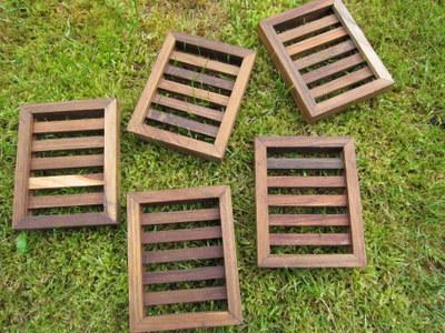 Foto von Seifenablage Holz