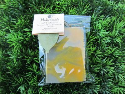 Foto von Heilerde-Seife mit Teebaumöl
