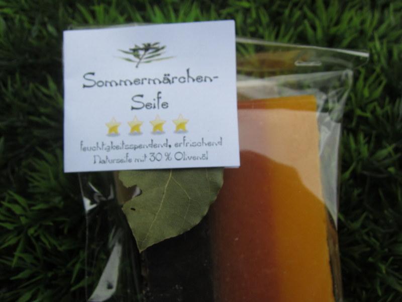 Foto von Sommermärchen-Seife