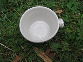 Foto von Keramik Topf für Rasierseife