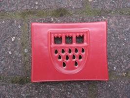 Foto von Seifenschale Keramik Köln rot