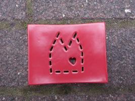 Foto von Seifenschale Keramik DOM rot