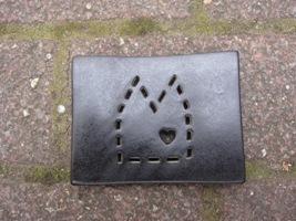 Foto von Seifenschale Keramik DOM schwarz