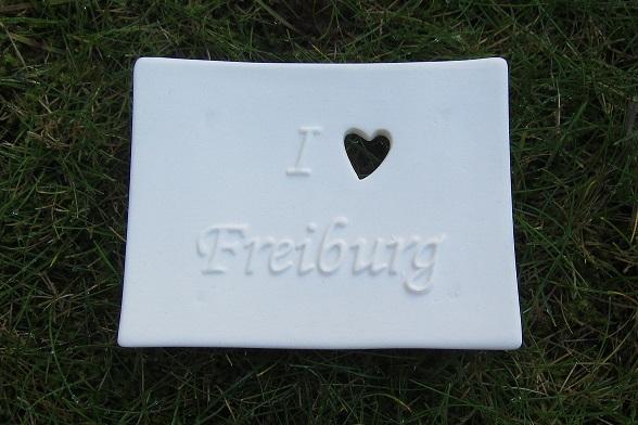 Foto von Seifenschale I Love Freiburg