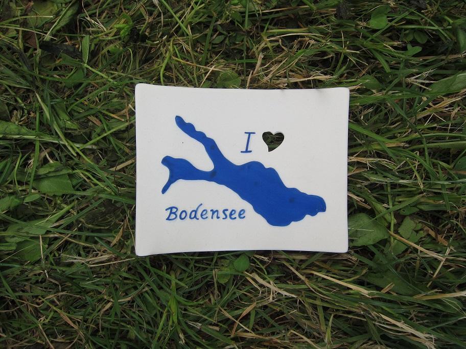 Foto von Seifenschale I Love Bodensee